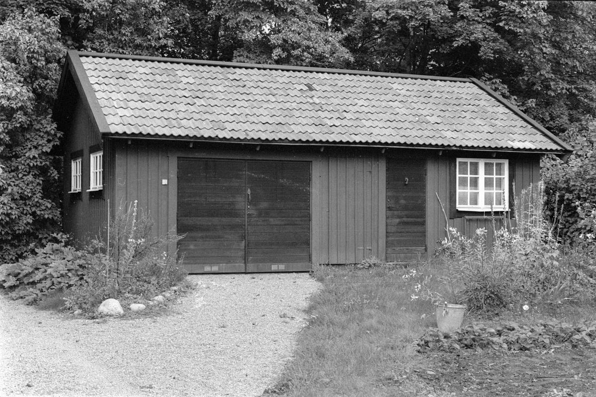 Garage och ateljé, Vattholma 5:7, Vattholma, Lena socken, Uppland 1978