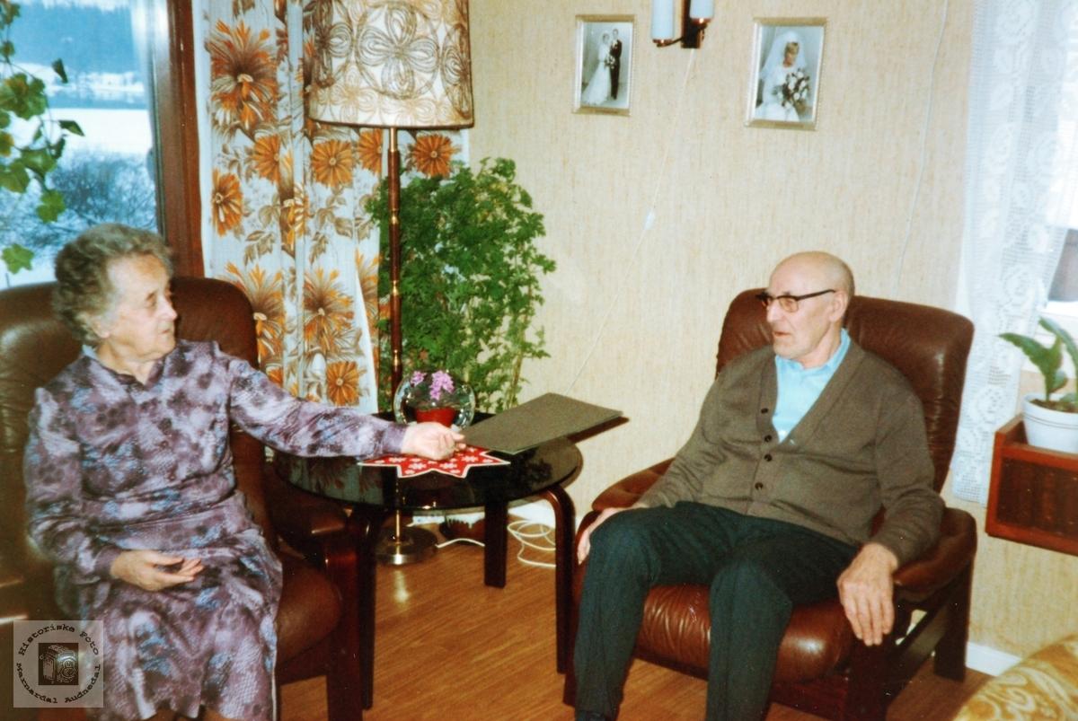 Ekteparet Asborg og Ola Lian, Audnedal.
