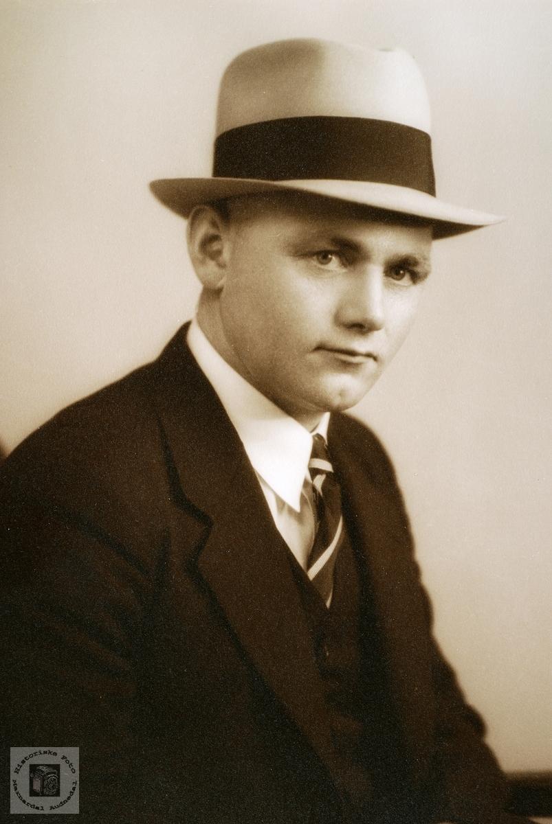 Portrett av Søren Øydne. Grindheim.