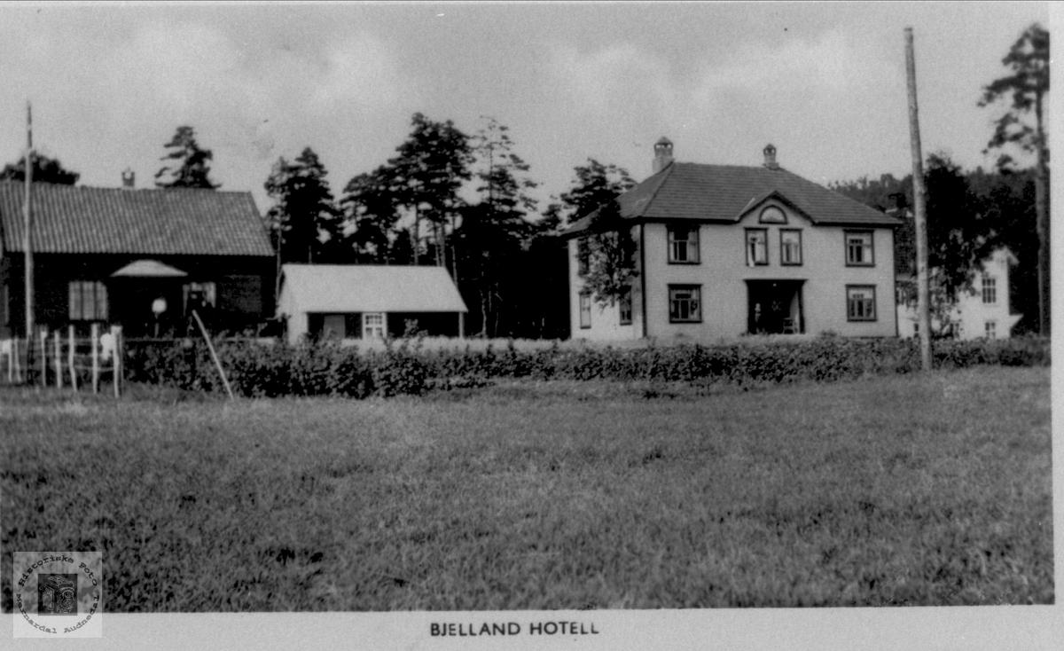 Bjelland Hotell, Bjelland.