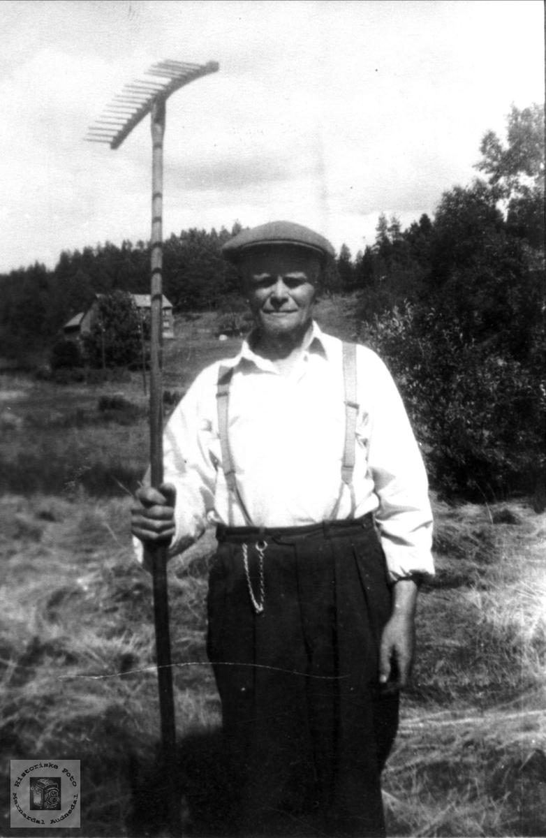Portrett av Andreas Røynesdal, Bjelland.