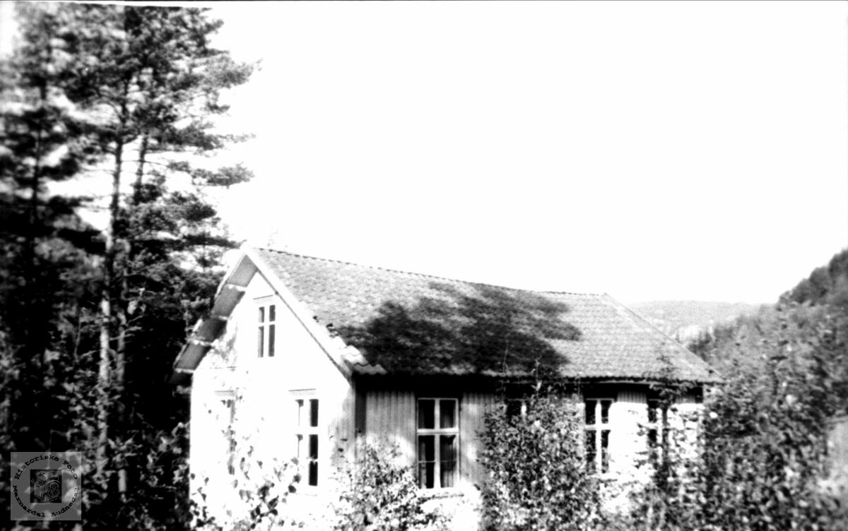 Ungdomshuset på Brusletta på Bjelland