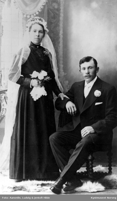 Bertine og Adolf Olsen