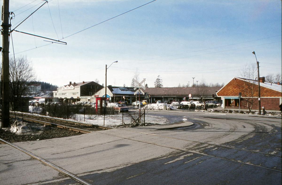 Eiksmarka senter. Et av de første butikksentre i Norge, fra 1953.
