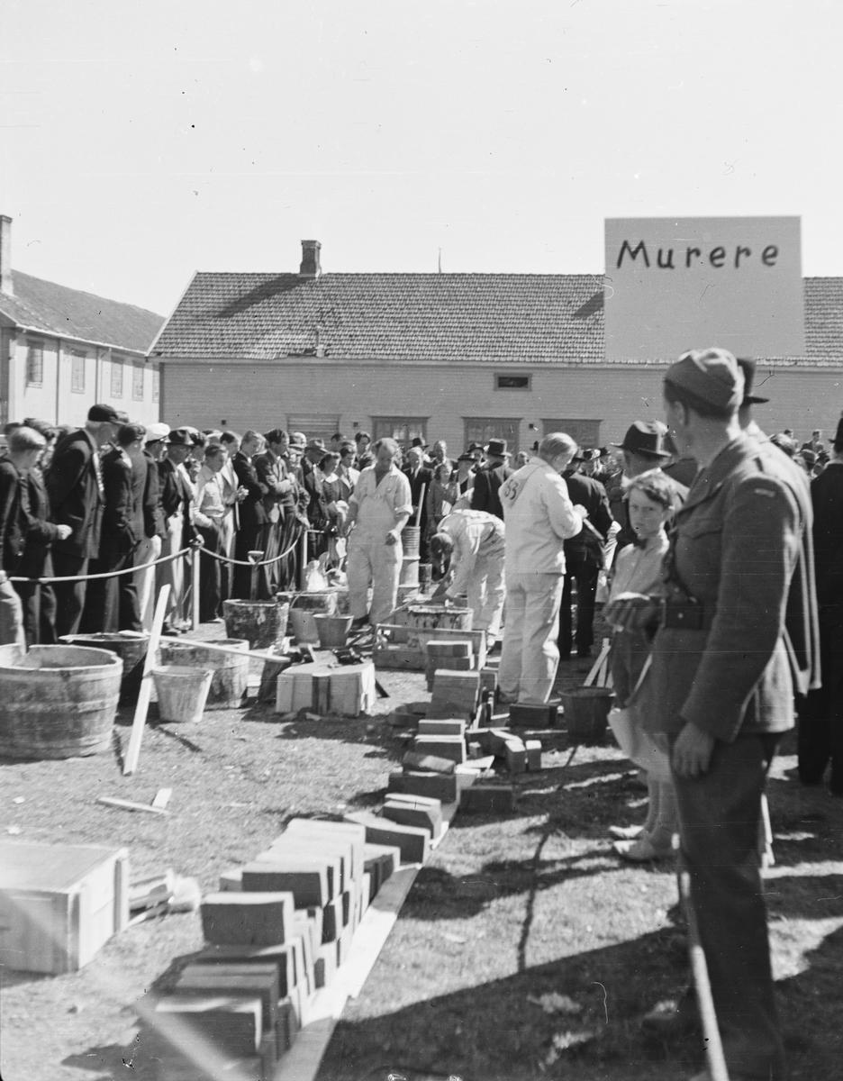 Håndverksutstilling, Elverum 1948.