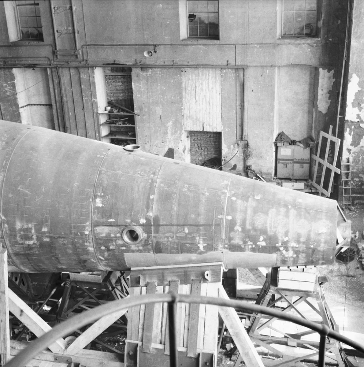 Övrigt: Nybyggnad av ubåt