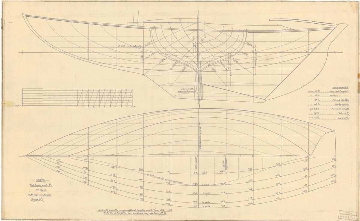 Spantruta och linjeritning
