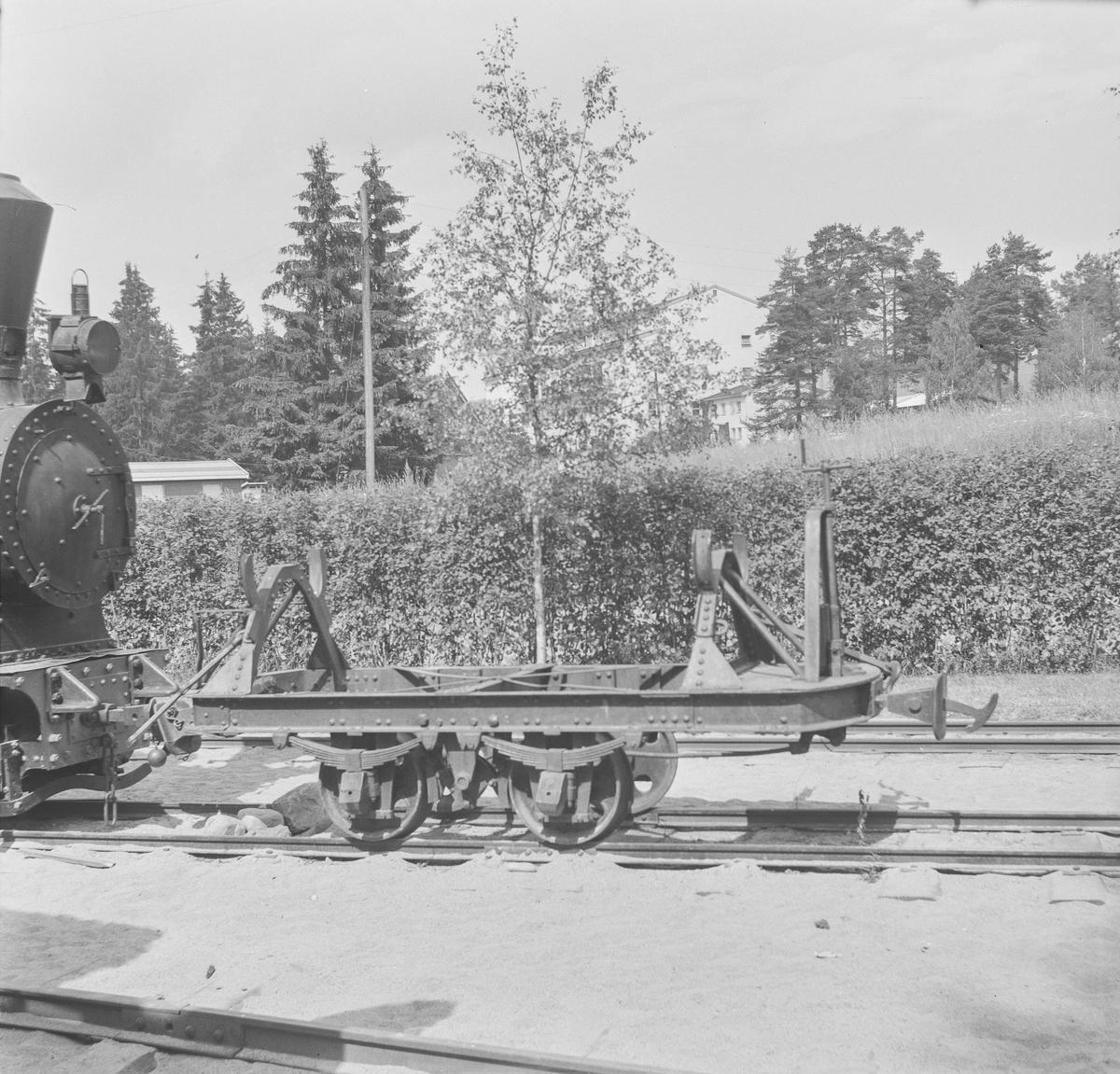 Vagg fra Sulitjelmabanen på Jernbanemuseet på Hamar.