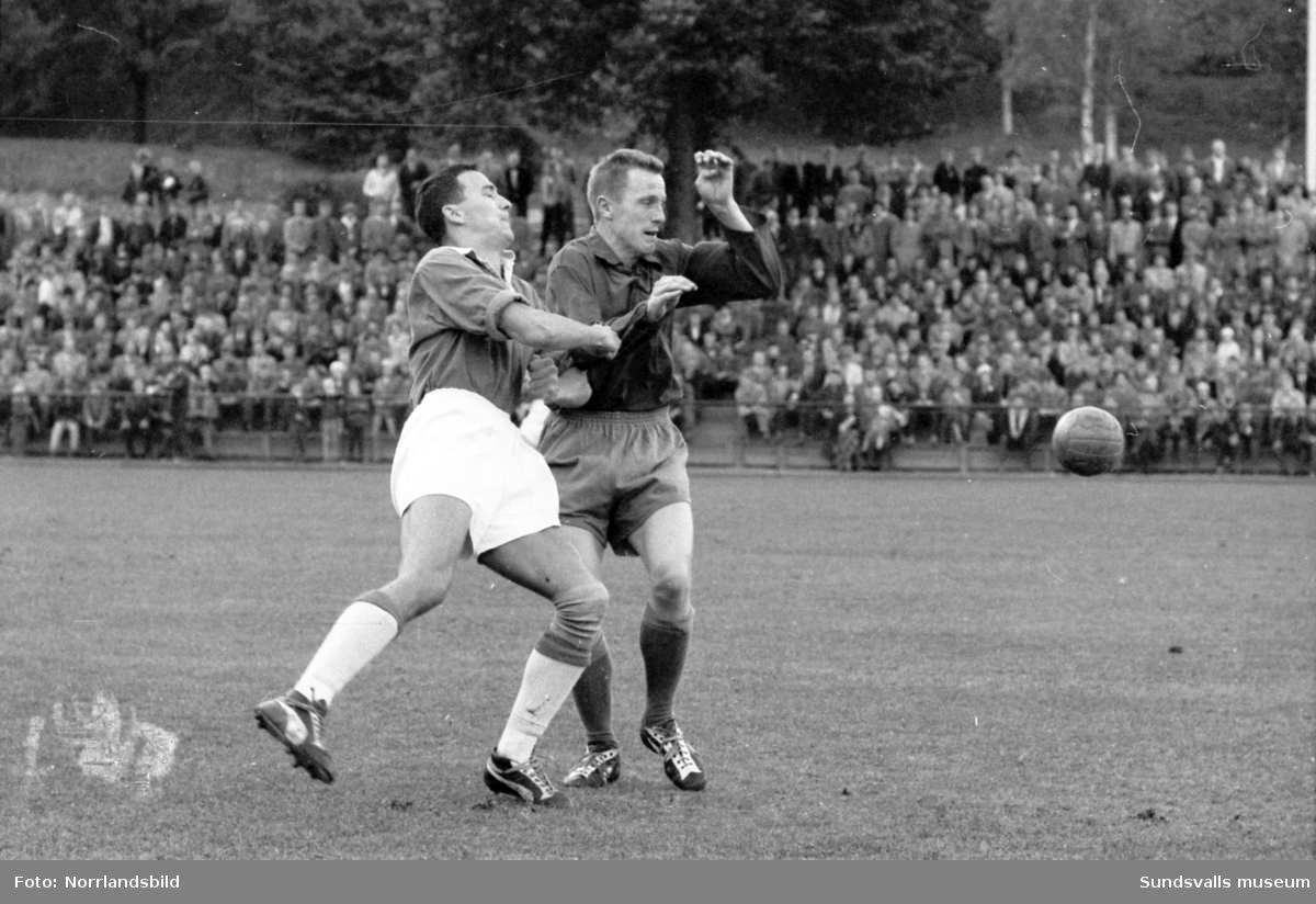 Fotboll, GIF Sundsvall-Fagervik.