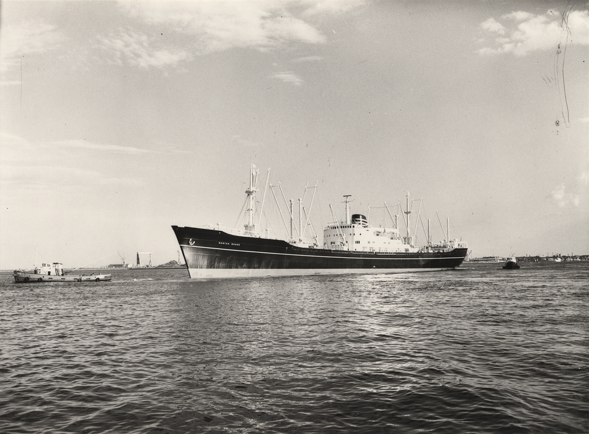 M/S MARTHA BAKKE. Fotot taget 1960.