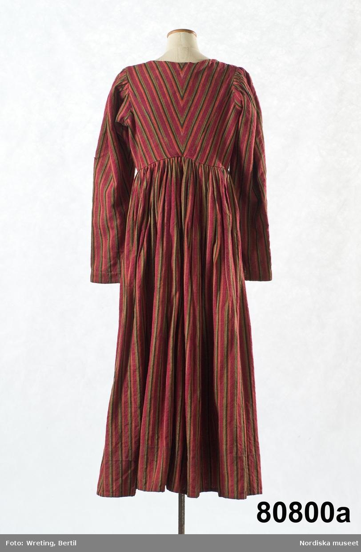täckande klänningar