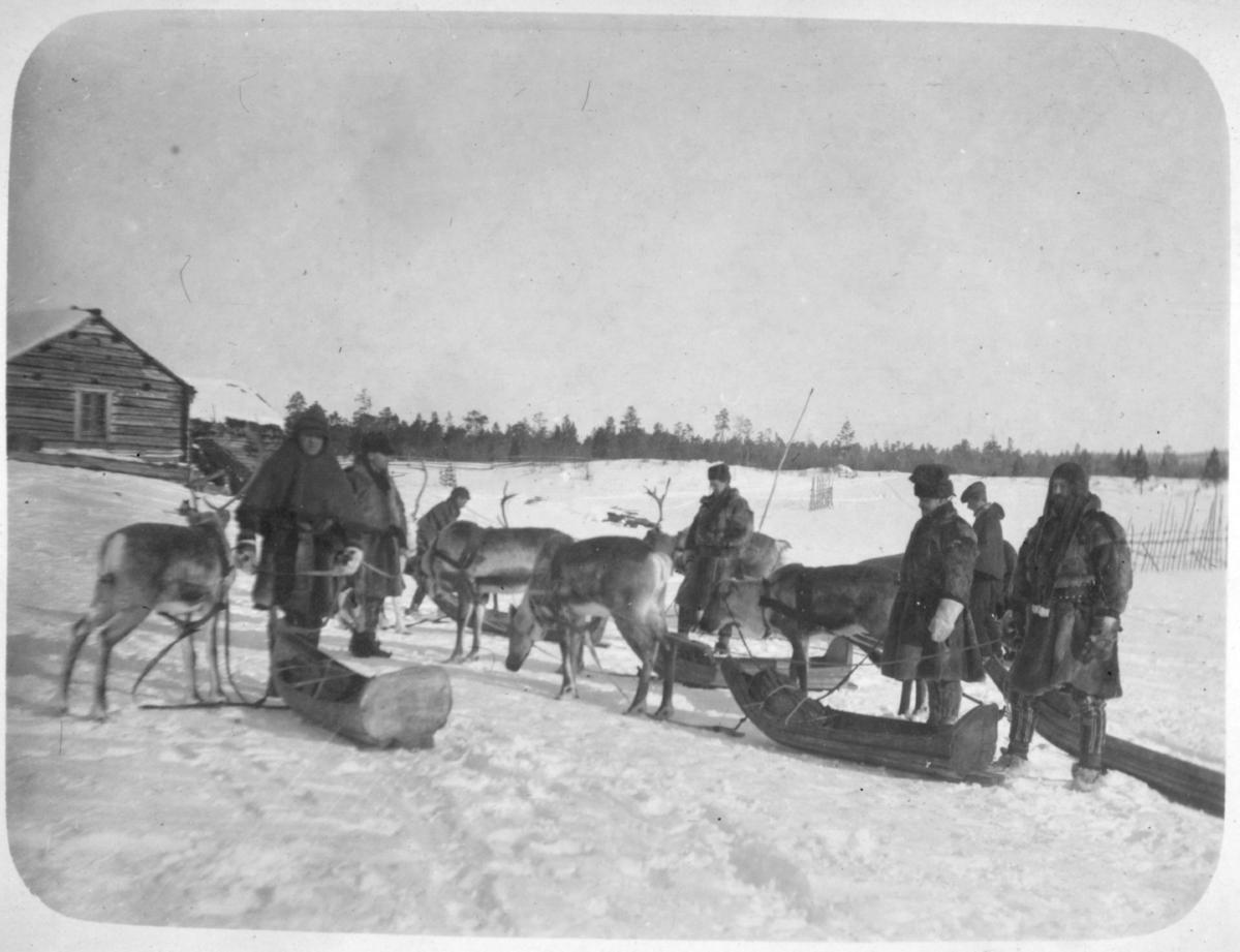 Bjørnsund. Påsketur til männikafossen 1915
