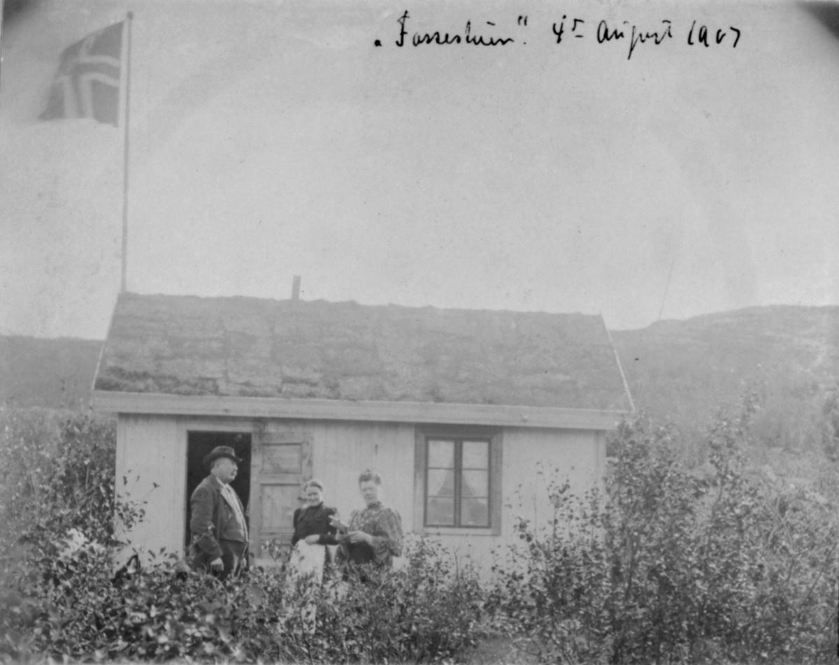 Fossestuen 4. august 1907.