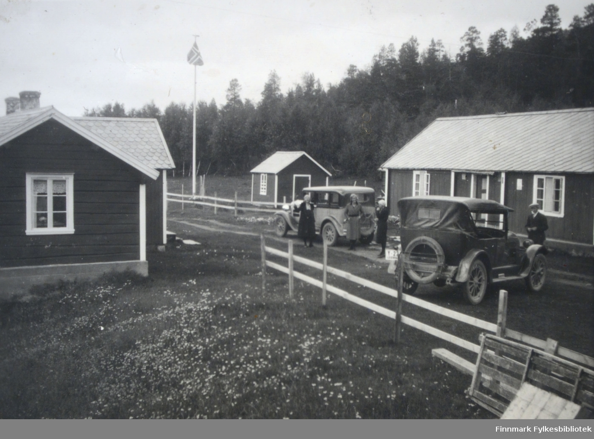 Bildet viser Gargia fjellstue.