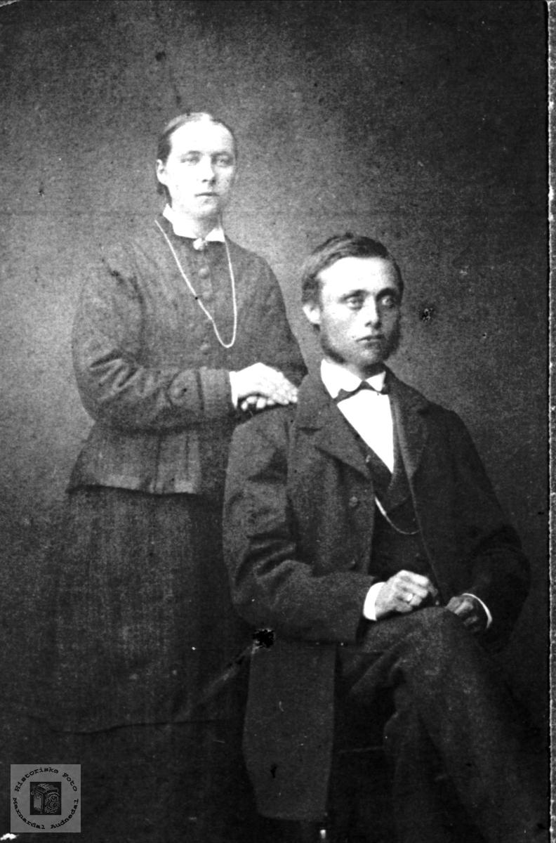 Ekteparet Torborg og Knut Koland