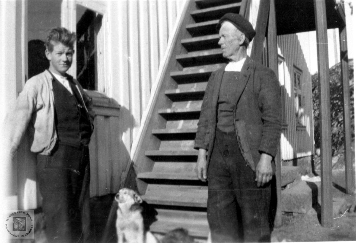 Ola og Fredrik Skjeggestad
