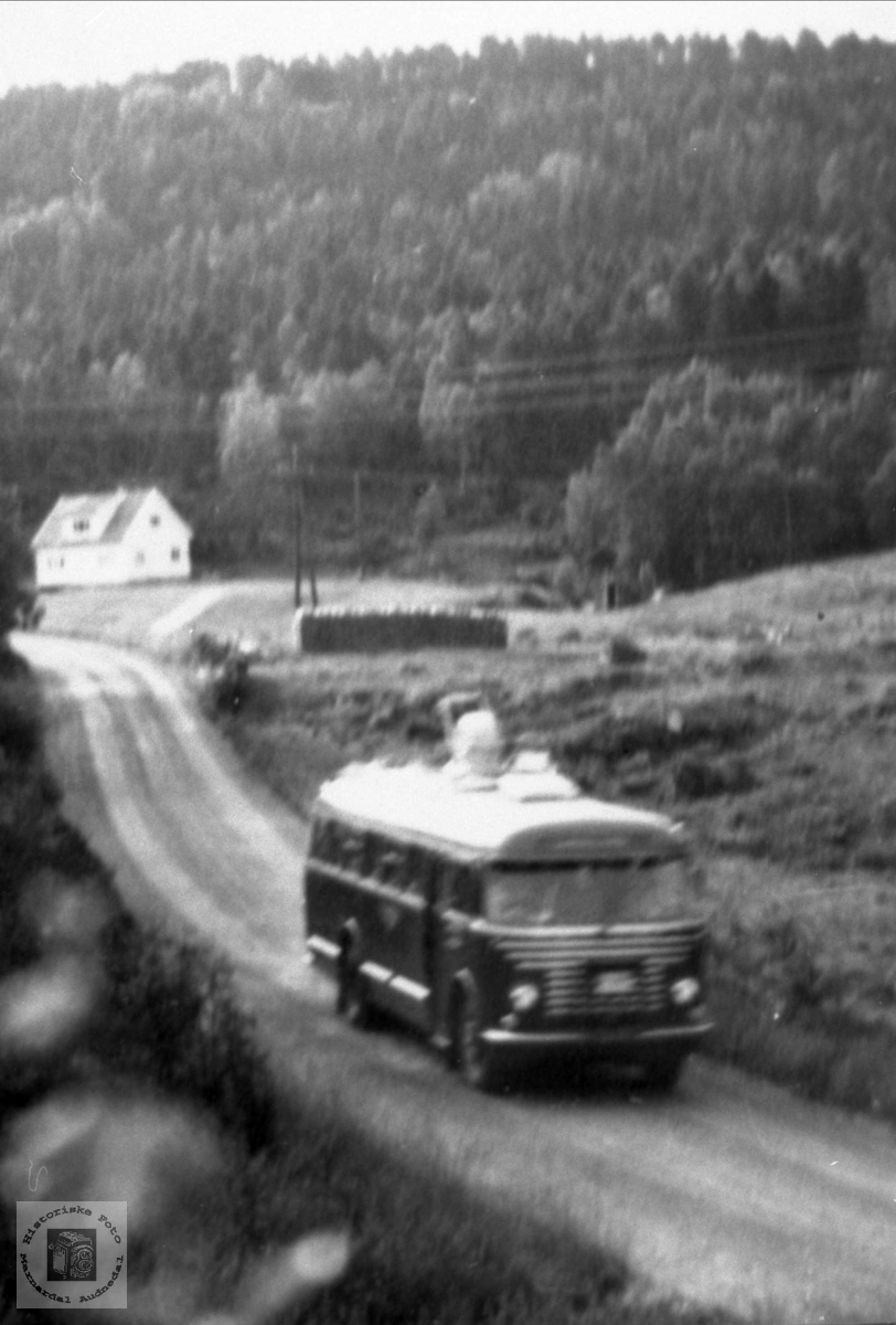 Åseral - Kristiansand-ruta går søndag kveld også.