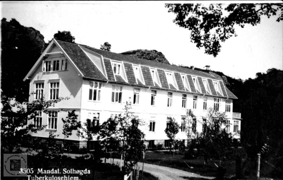 Solhøgda sanatorium, Mandal.