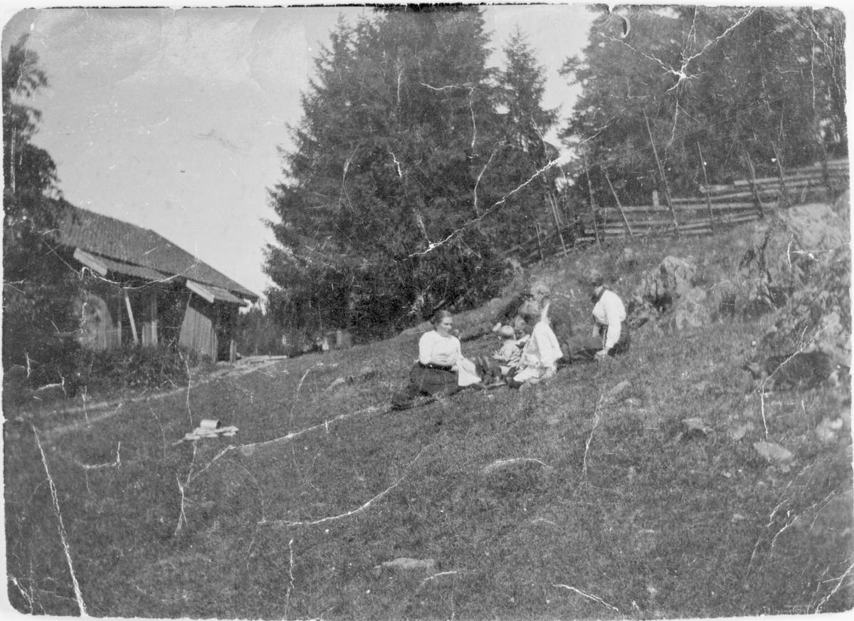Tunet på Veng 1910.