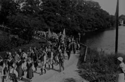 Folktåget till Bygdestämman 1933, Vallby friluftsmuseum i Vä