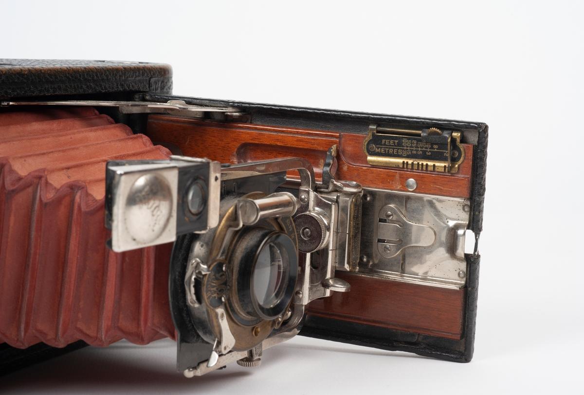 Sammenleggbart foldeapparat m/skinnetui.