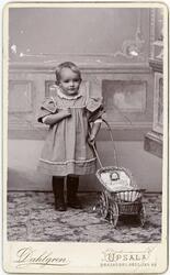 Kabinettsfotografi - Alfred Dahlgrens son, Uppsala 1897