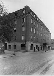 Österlånggatan mot söder med Grand-Hotell i kvarteret Apollo
