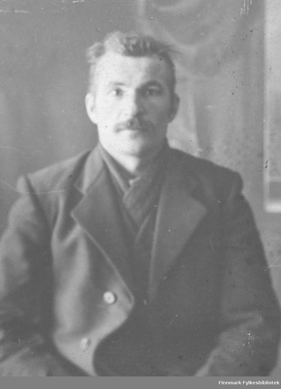 Portrett av Johan Mikkola.
