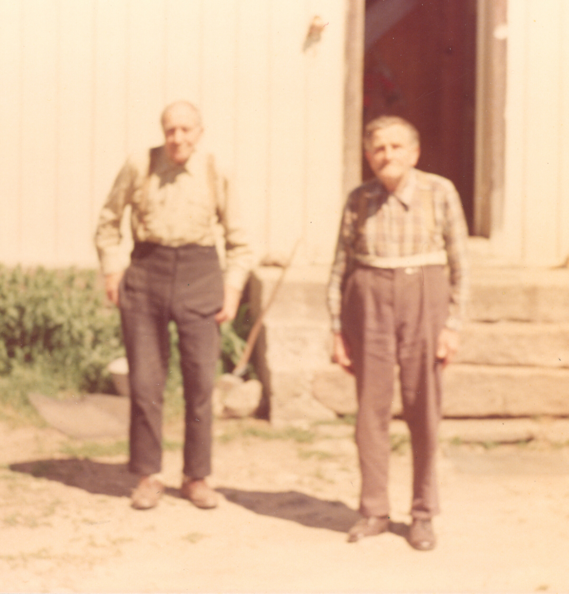 To eldre menn