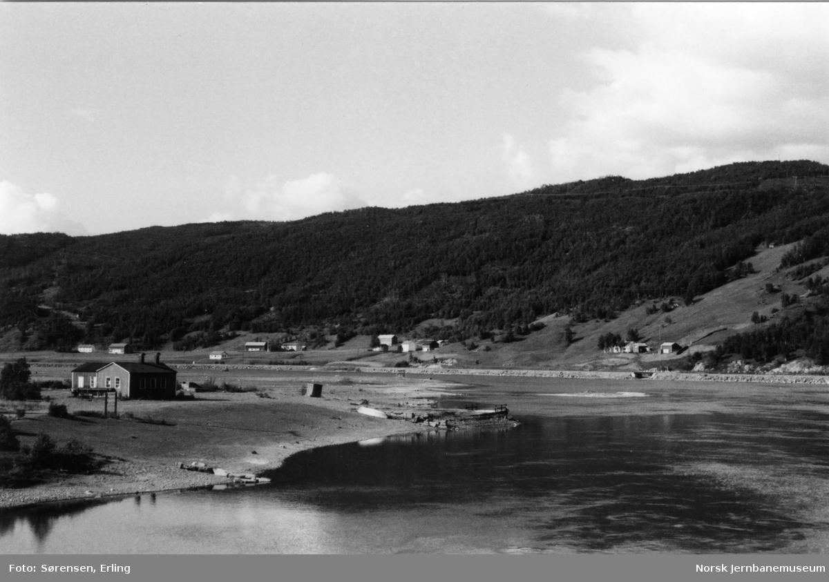 Sulitjelmabanen ved Hellarmo