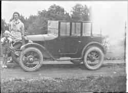 Kristian Brodersens første bil, Ørland