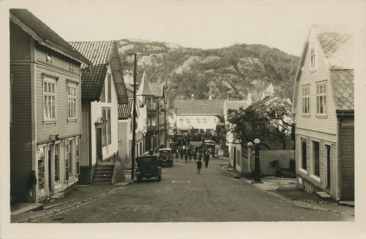 Johan Feyersgate, Egersund ca. 1922.