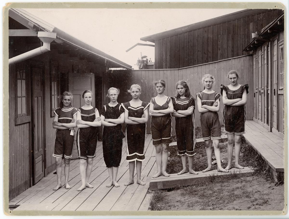 Simmagistern, Kallbadhuset, Uppsala 1901