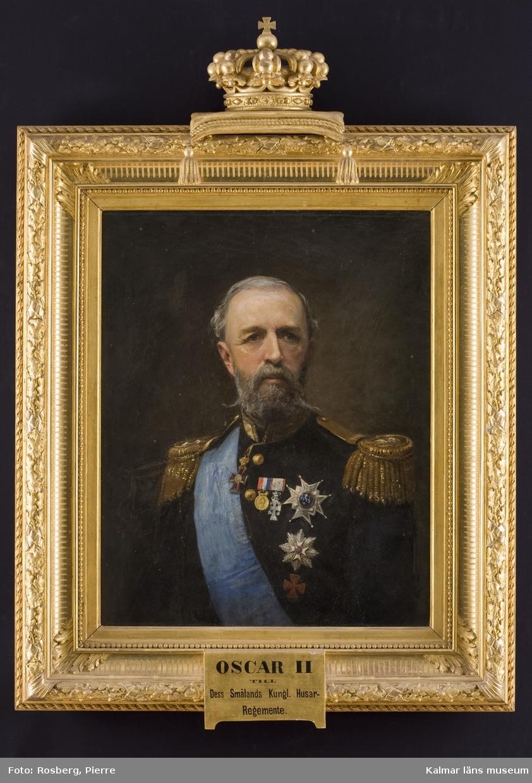 Porträtt föreställande Oscar II.