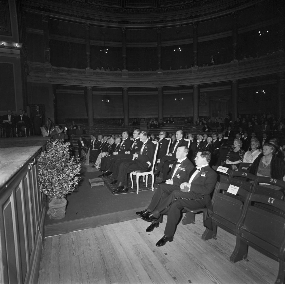 Gustav Adolfs Akademiens 25-årsjubileum, Uppsala 1957