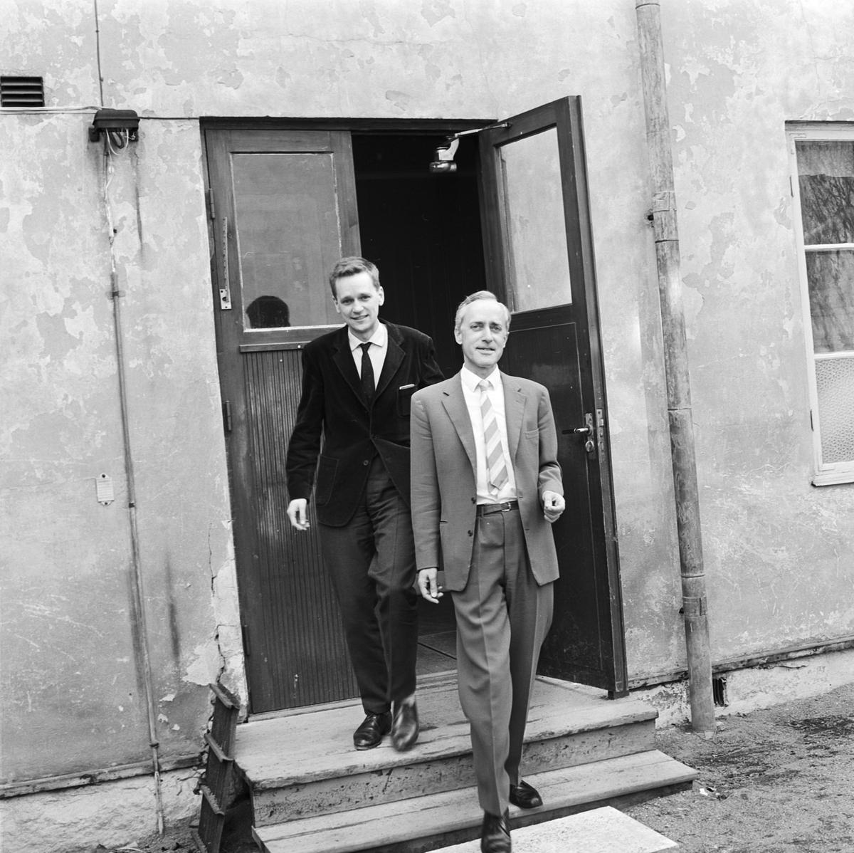 Historiska institutionen, Uppsala 1965