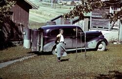 Personbil med generator for knottfyring, 2.verdenskrig, ukje