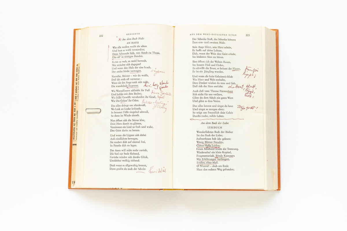 Goethes Werke, Band 1