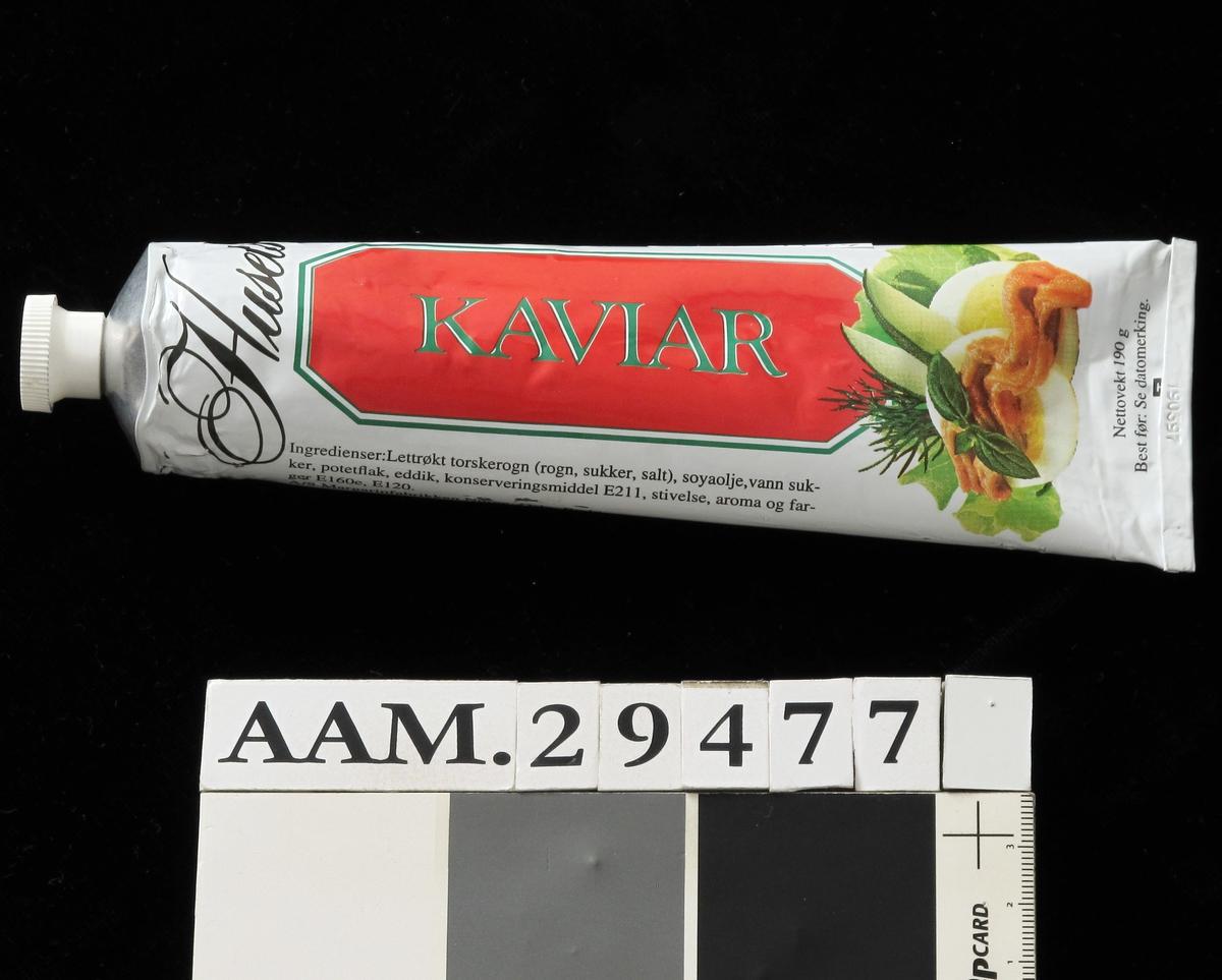 Egg, grønt og kaviar
