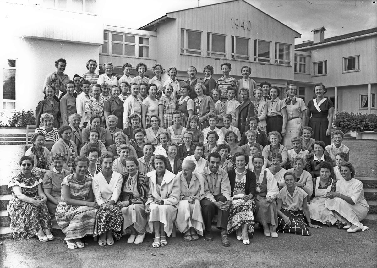 Gruppebilde fra Romerike folkehøyskole.