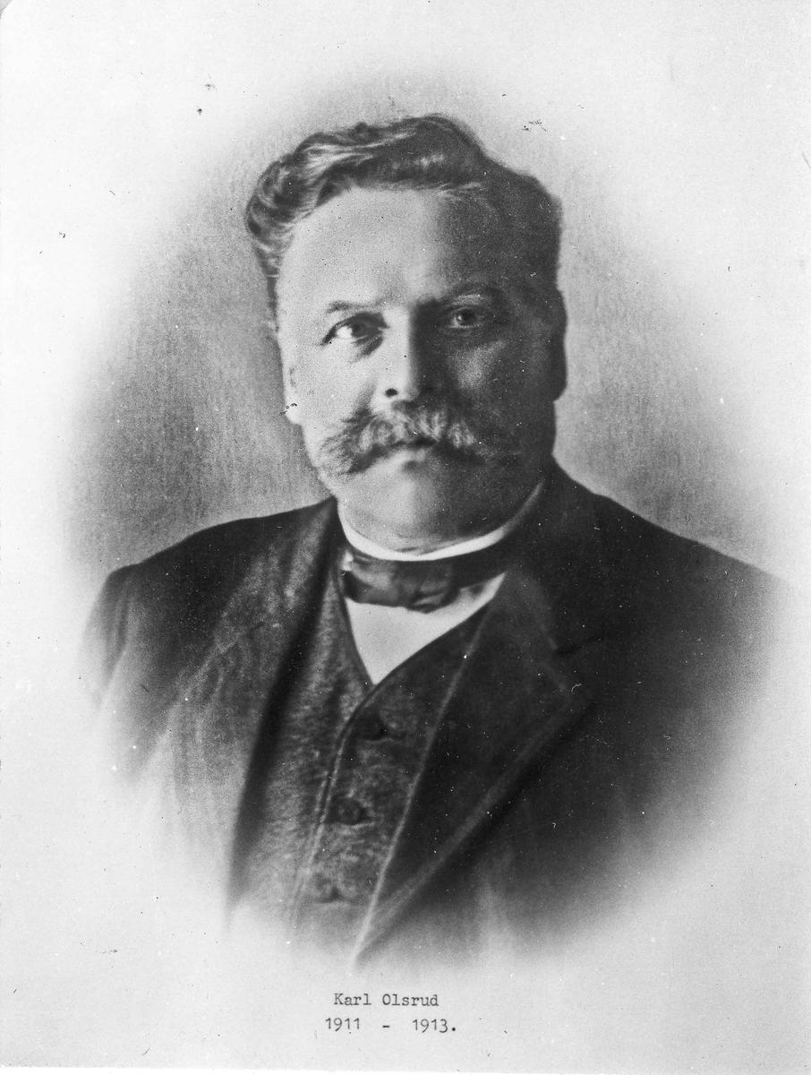 Karl Olsrud, ordfører 1911-13.