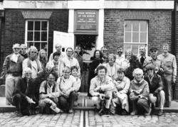 Lærere ved Furnes ungdomskole på skoletur til London i 1968.