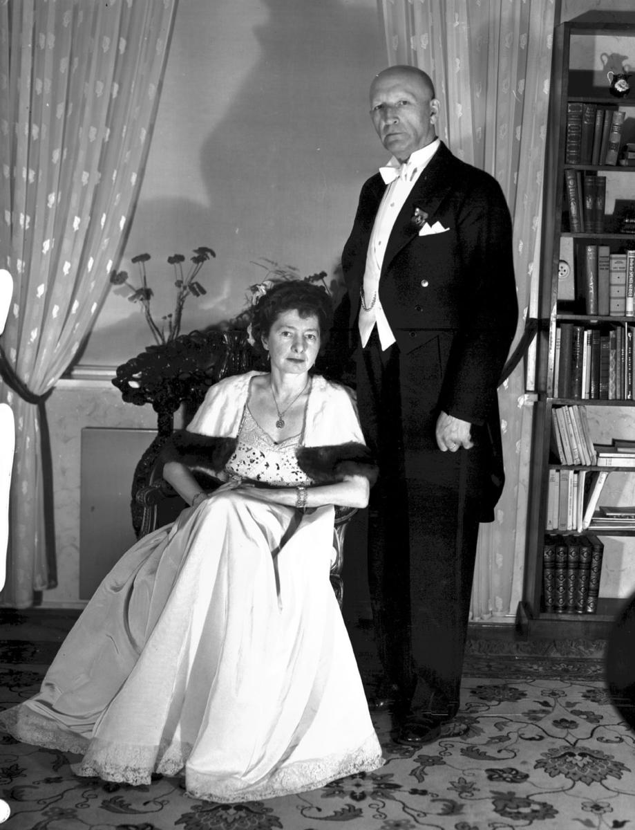 Didrik Møystad med fru