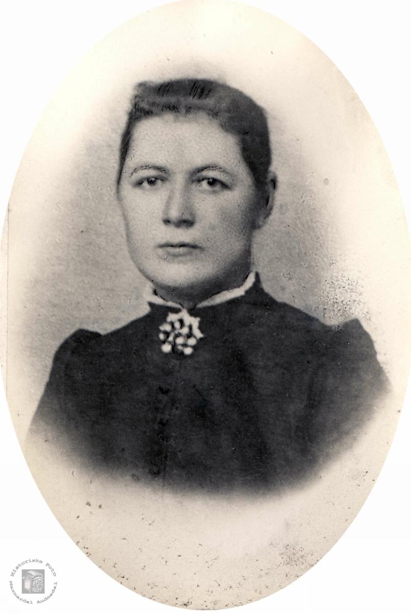 Portrett av Guri Solberg fra Bjelland.