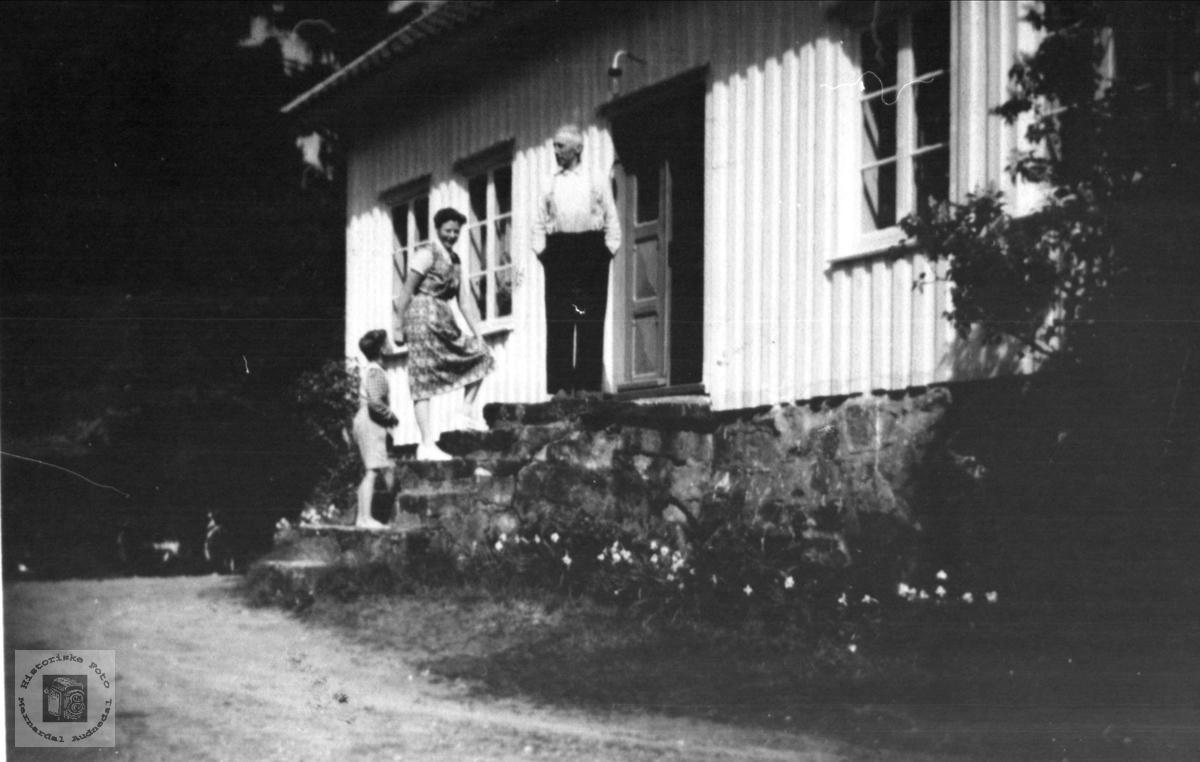Huset på Kleiv, Øyslebø.