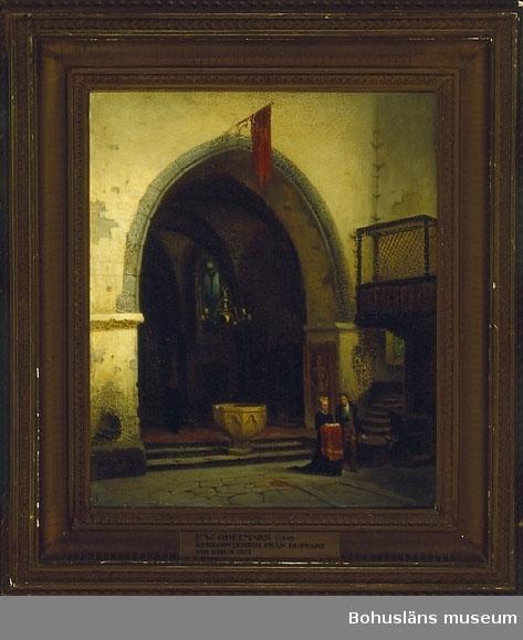 Kyrkointeriör från Boppard vid Rhen i Tyskland.