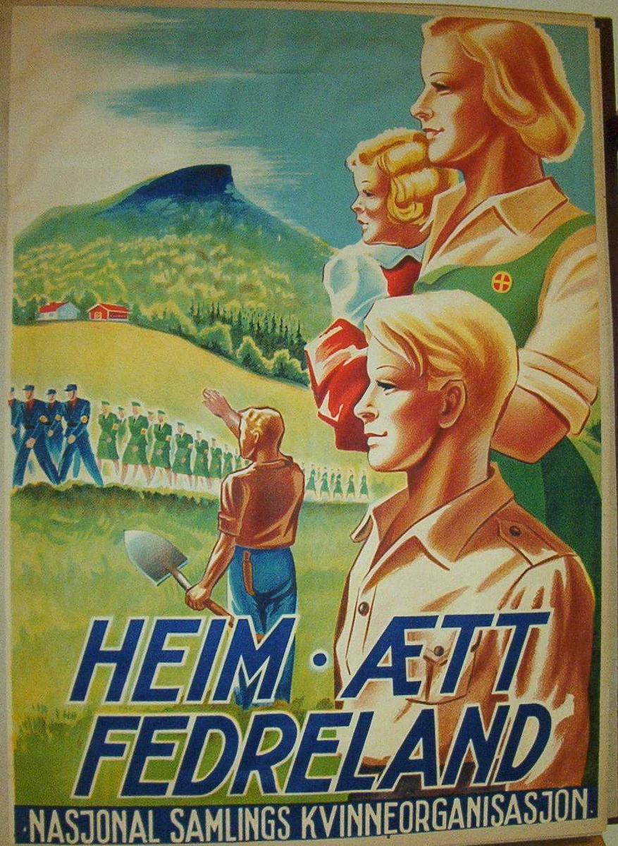 Plakat - Justismuseet / DigitaltMuseum