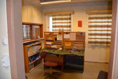The last manual telephone exchange in Norway