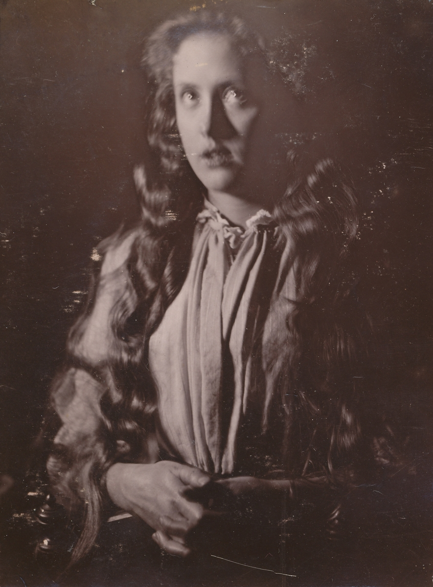 Portrett av ung pike.