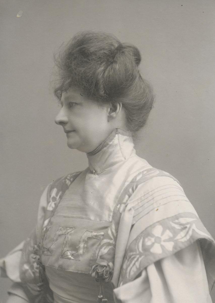 Portrett av ung dame